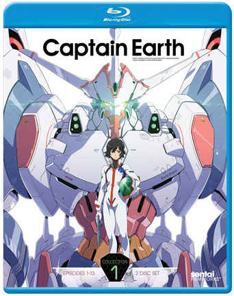 Captain Earth Collection 1 (S) Blu-ray