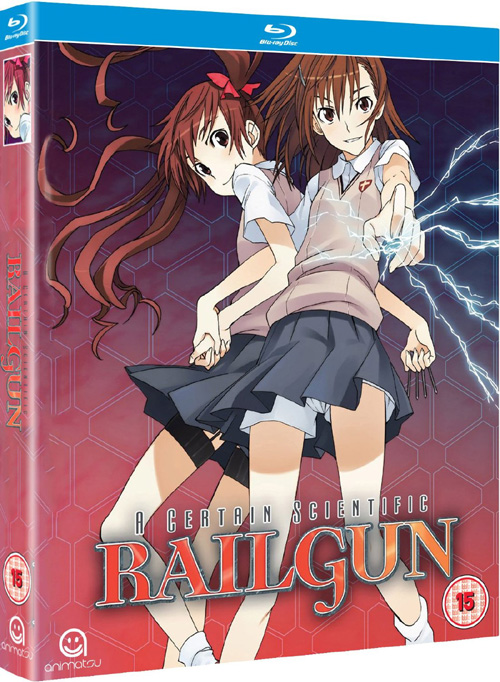 A Certain Scientific Railgun Season 1 Collection Blu-Ray (Hyb)