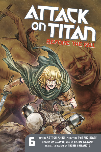 Attack on Titan: Before the Fall  6 GN (PM)