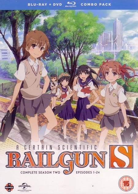 A Certain Scientific Railgun Season 2 Collection (Hyb) DVD/Blu-Ray