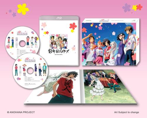 Anohana The Flower We Saw That Day TV Series Box Set (Hyb) Blu-ray
