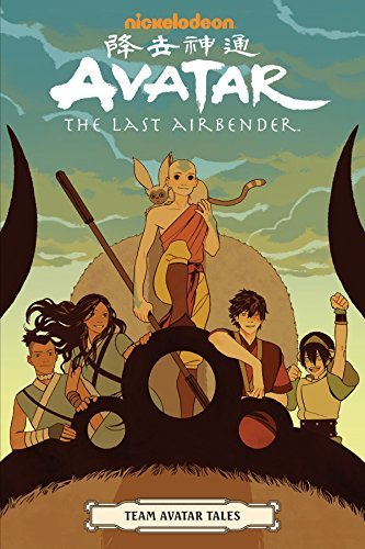 Avatar the Last Airbender Team Avatar Tales GN (PM)