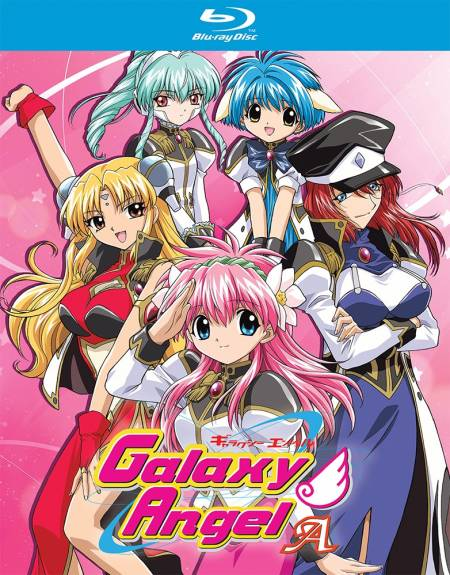 Galaxy Angel A (Hyb) Blu-ray