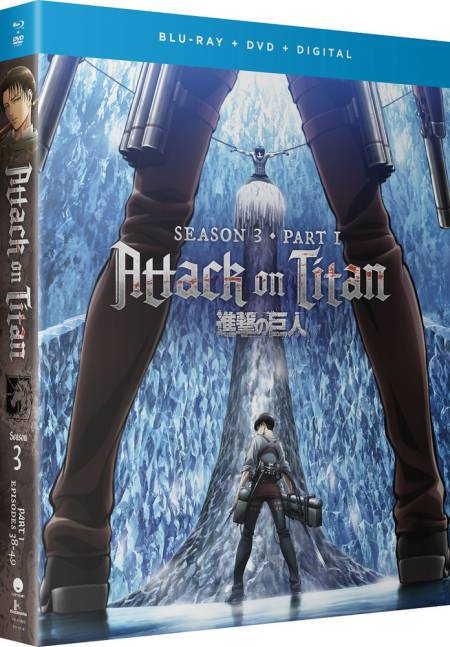 Attack On Titan Season 3 Part 1 (Hyb) DVD/Blu-ray