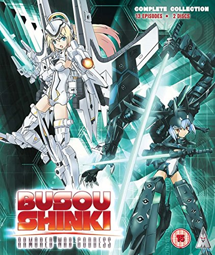 Busou Shinki: Armored War Goddess Collection (S) Blu-Ray