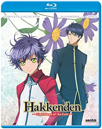 Hakkenden Eight Dogs of the East Complete Collection (Hyb) Blu-ray