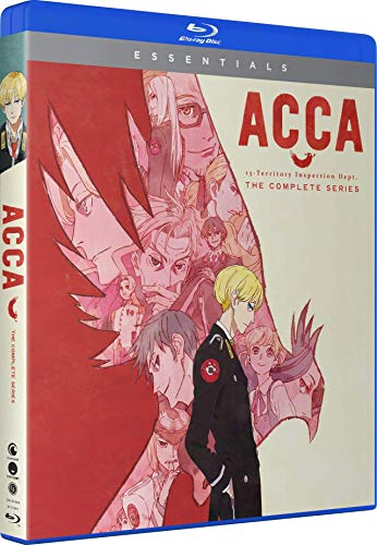 ACCA 13 Territory Inspection Dept (Hyb) Essentials Blu-ray