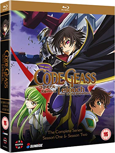 Code Geass: Lelouch of the Rebellion - Complete Series (Hyb) Blu-Ray