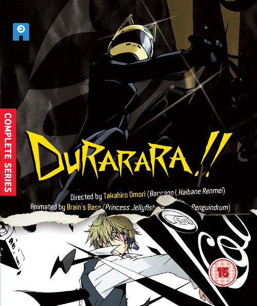 Durarara Complete Collection (Hyb) Blu-Ray