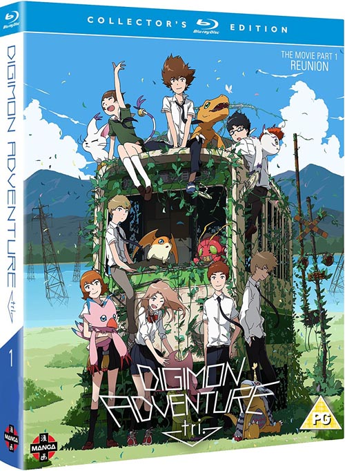 Digimon Adventure Tri The Movie Part 1 Collectors Edition (Hyb) Blu-Ray