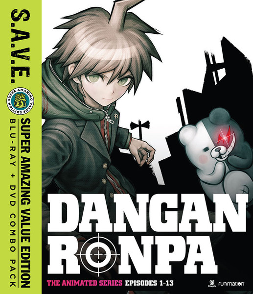 Danganronpa (Hyb) S.A.V.E. Edition DVD/Blu-ray