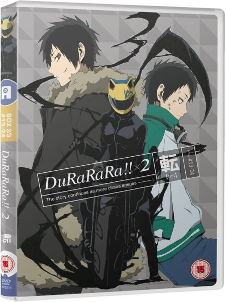 Durarara!! x2 Ten Collection Part 2 (Hyb)