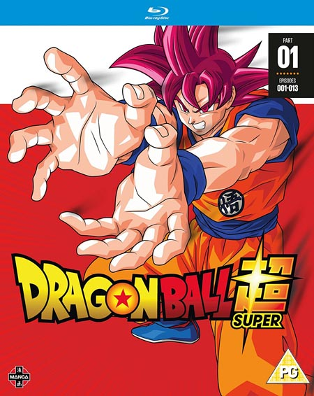 Dragon Ball Super Season 1 Part 1 (Hyb) Blu-Ray