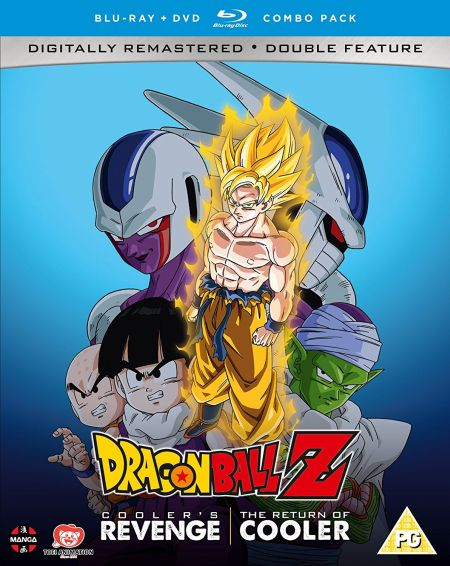 Dragon Ball Z Movie Collection Three: Cooler's Revenge/Return of Cooler (Hyb) DVD/Blu-Ray
