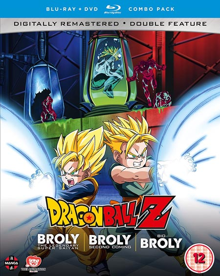 Dragon Ball Z Movie Collection 5: The Broly Trilogy (Hyb) DVD/Blu-Ray