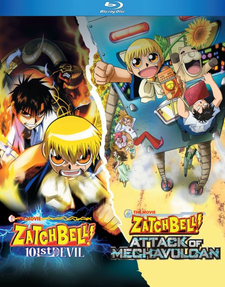 Zatch Bell Movies (S) Blu-ray