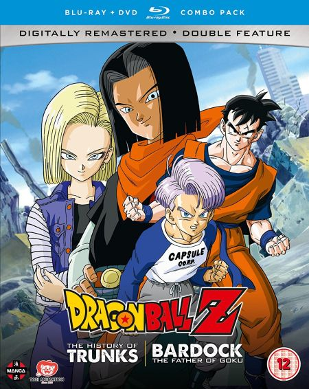Dragon Ball Z the TV Specials Double Feature: The History of Trunks/Bardock the Father of Goku (Hyb) DVD/Blu-Ray