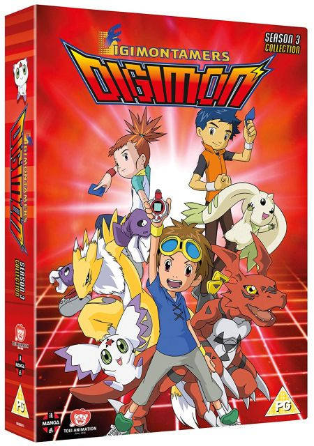Digimon: Digital Monsters Season 3 (D)