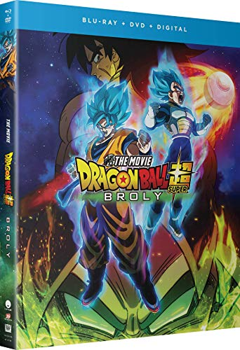 Dragon Ball Super Broly (Hyb) DVD/Blu-ray