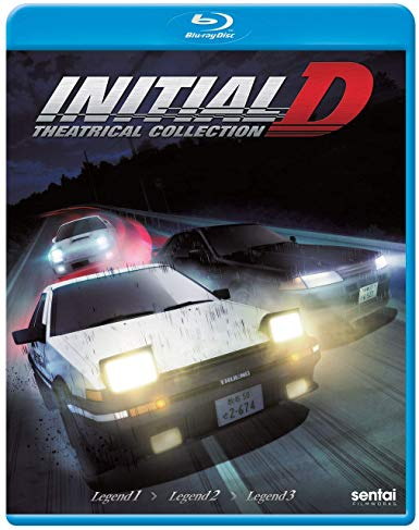 Initial D Legend Theatrical Collection (S) Blu-ray