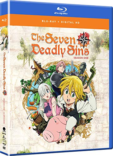Seven Deadly Sins Season 1 Complete Collection (Hyb) Blu-ray