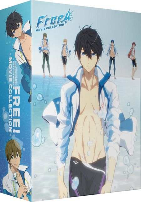 Free! Movie Collection Limited Edition Box Set (Hyb) DVD/Blu-ray