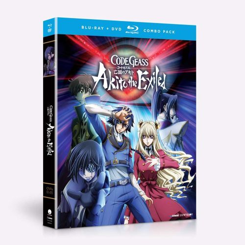Code Geass Akito the Exiled (Hyb) DVD/Blu-ray