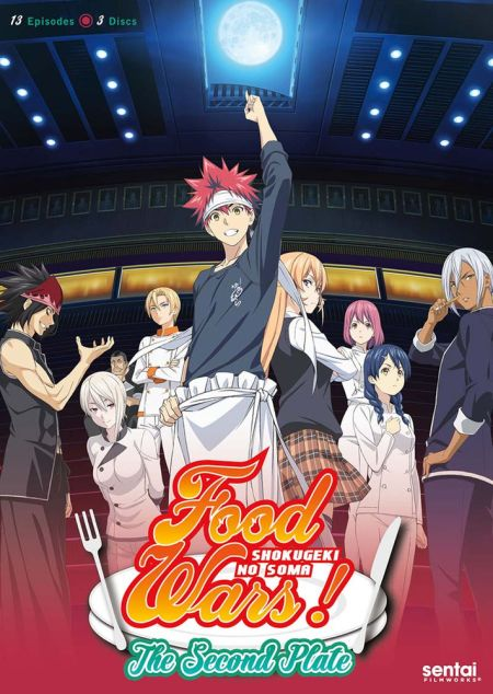 Food Wars! The Second Plate (Hyb)