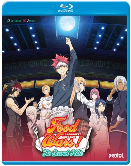 Food Wars! The Second Plate (Hyb) Blu-ray