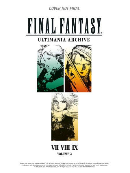 Final Fantasy Ultimania Archive Artbook  2 (L) (Hardcover)