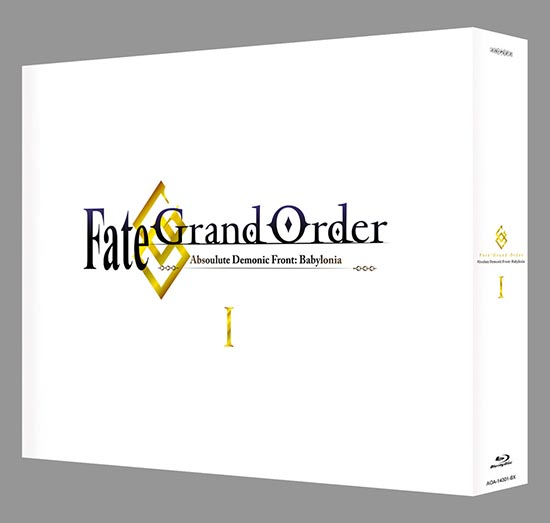 Fate/Grand Order Absolute Demonic Front Babylonia Box Set I (Hyb) Blu-ray