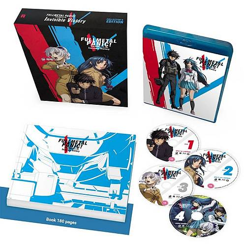 Full Metal Panic! Invisible Victory [Inc. Audio Drama's] - Collector's Edition (Hyb) Blu-Ray