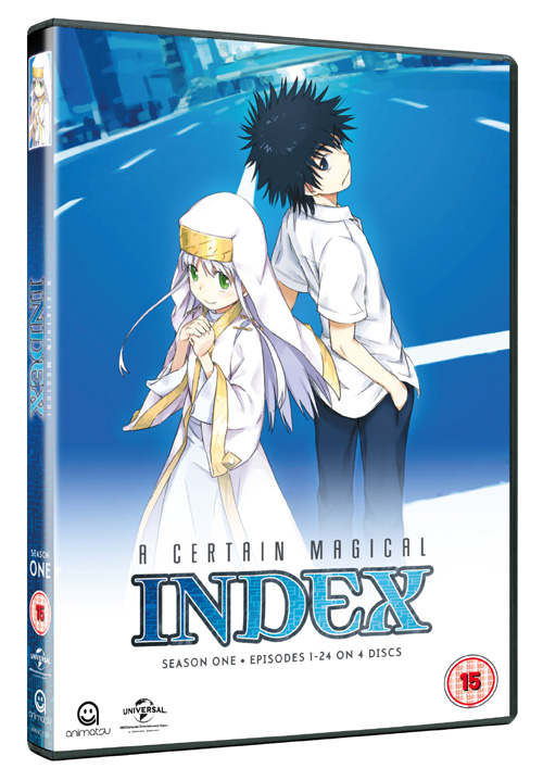A Certain Magical Index Season 1 Collection (Hyb)