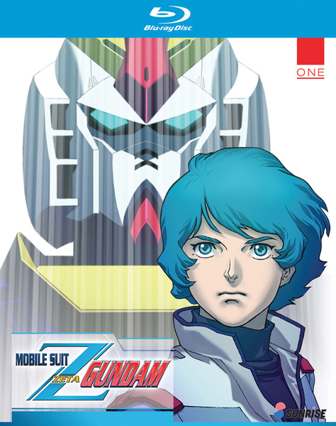 Gundam, Mobile Suit Zeta Collection 1 (Hyb) Blu-ray
