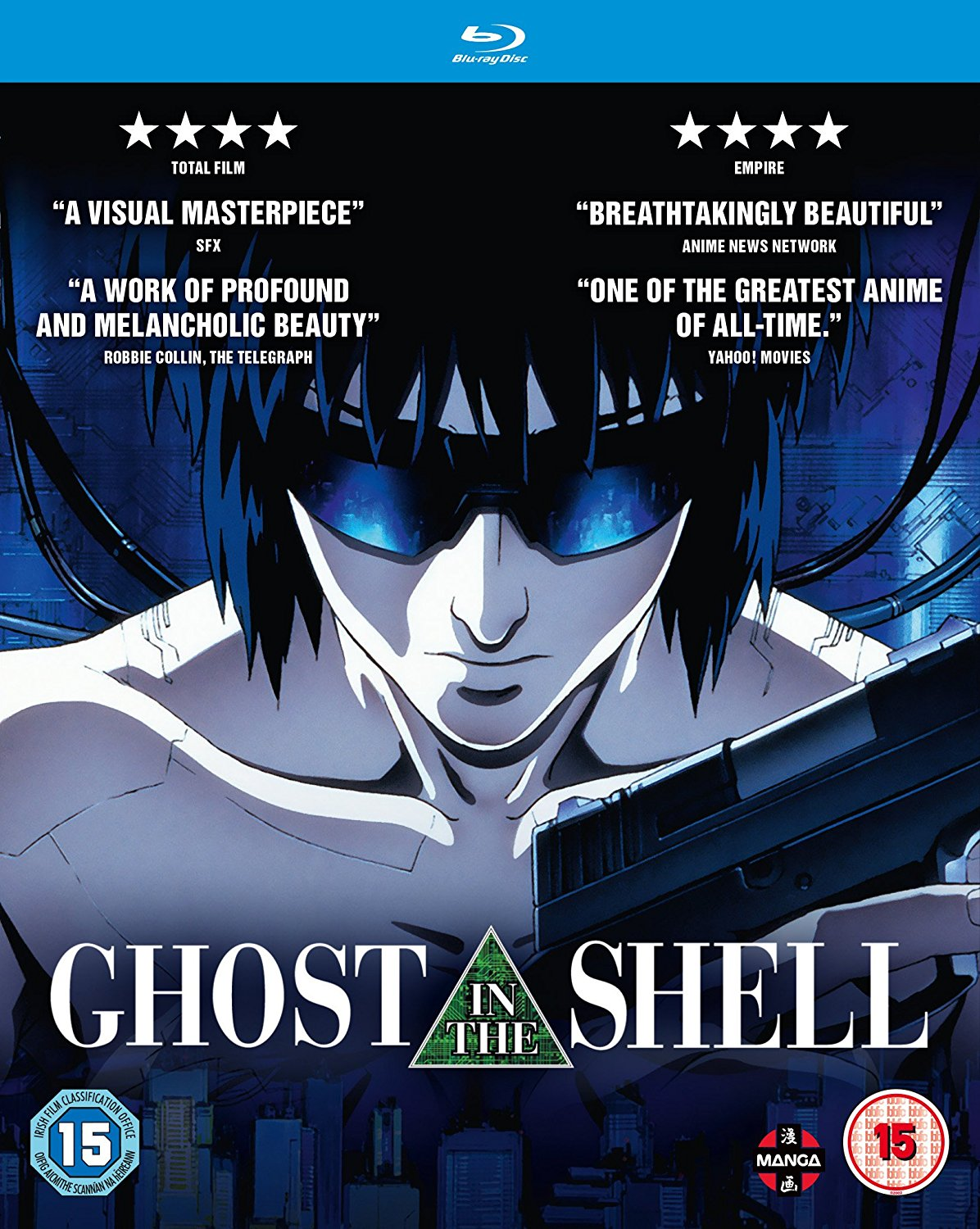 Ghost in the Shell (Hyb) Blu-Ray
