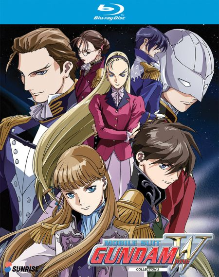 Gundam, Mobile Suit Gundam Wing Collection 2 (Hyb) Blu-ray