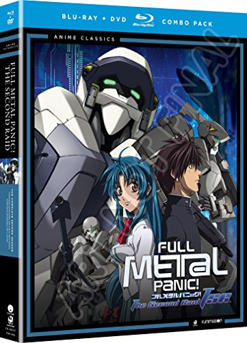 Full Metal Panic The Second Raid Complete Series (Hyb) Anime Classics DVD/Blu-ray