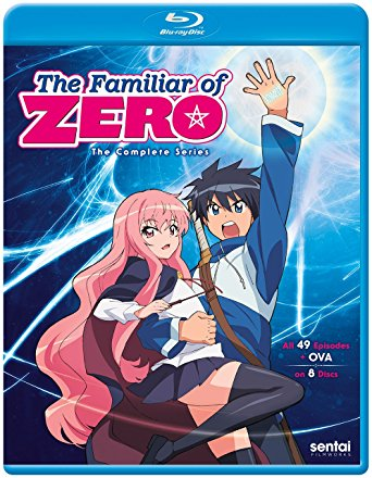 Familiar of Zero Complete Series (S) Blu-ray