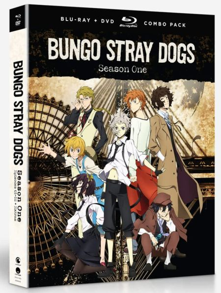 Bungo Stray Dogs Season 1 (Hyb) DVD/Blu-ray