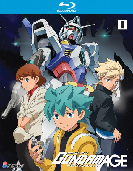 Gundam, Mobile Suit Gundam AGE Collection 1 (Hyb) Blu-ray