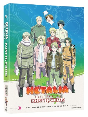 Hetalia Axis Powers Movie: Paint it, White (Hyb)