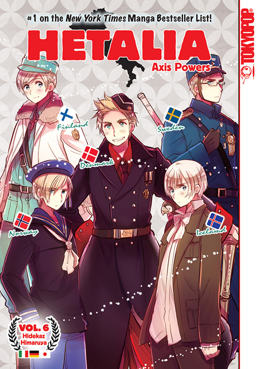 Hetalia Axis Powers 6 GN (PM)