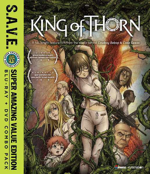 King of Thorn (Hyb) SAVE Edition DVD/Blu-ray