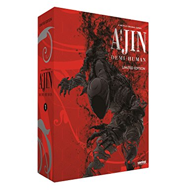 Ajin Demi-Human Season 1 (Hyb) Premium Edition Box Set DVD/Blu-ray