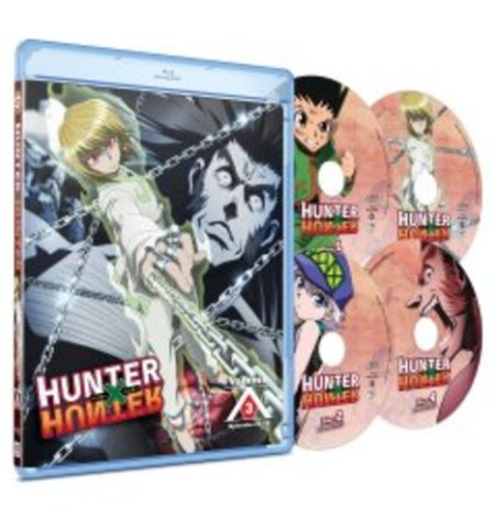 Hunter X Hunter  3 (Hyb) Blu-ray