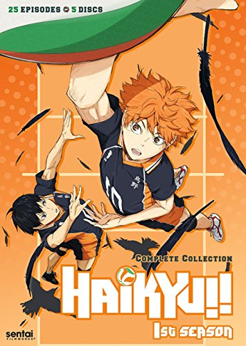 Haikyu!!  1st Season Complete Collection (Hyb)