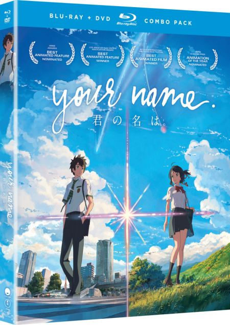 Your Name (Hyb) DVD/Blu-ray
