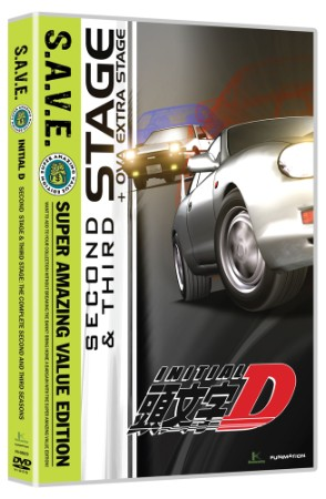 Initial D: Stage 2&3 Complete Collection (Hyb) - S.A.V.E. Edition