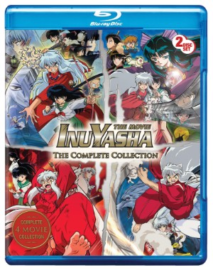 Inu Yasha Movie Complete Collection (Hyb) Blu-ray