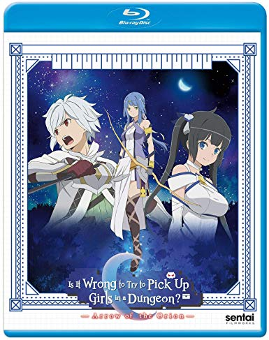 Is It Wrong To Try To Pick Up Girls In A Dungeon? Arrow Of The Orion Movie (Hyb) Blu-ray